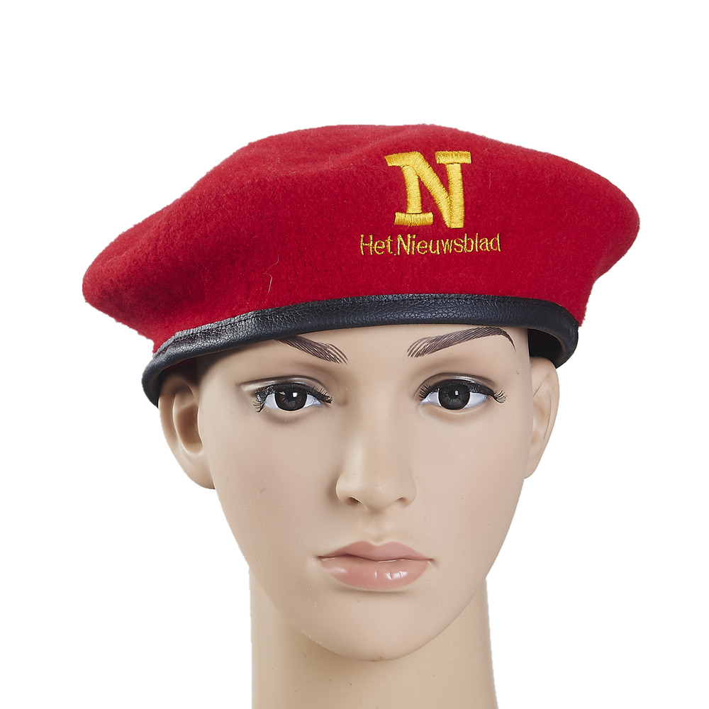 77edad38 Wholesale custom embroidery beret red army beret - Product Details ...